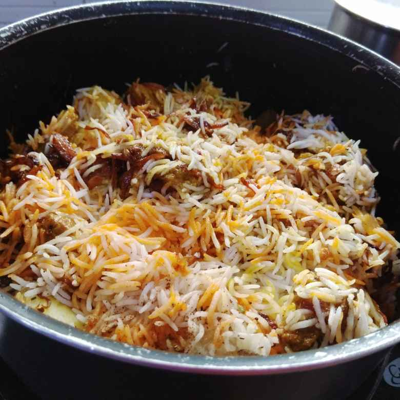 How to make Kolkata style mutton biriyani