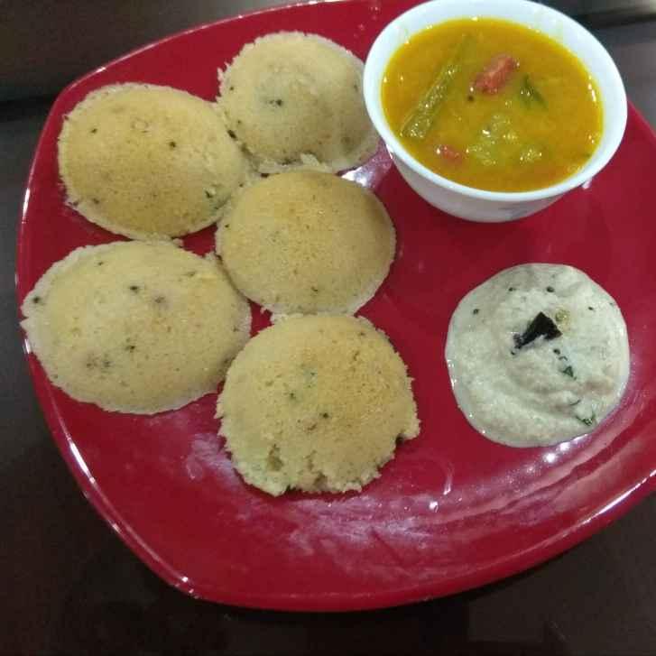 How to make চটজলদি রাভা ইডলি