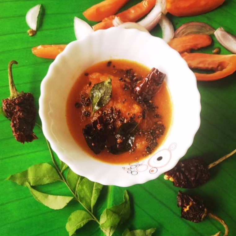 How to make Tomato and Onion chutney