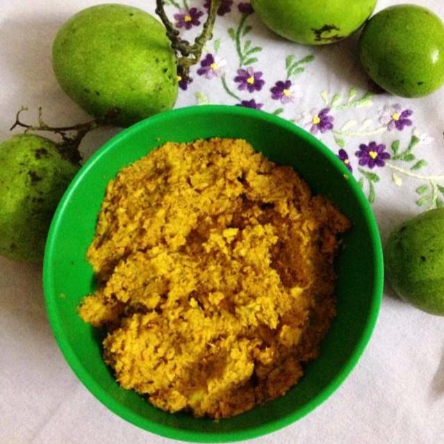 How to make Mango coconut chutney