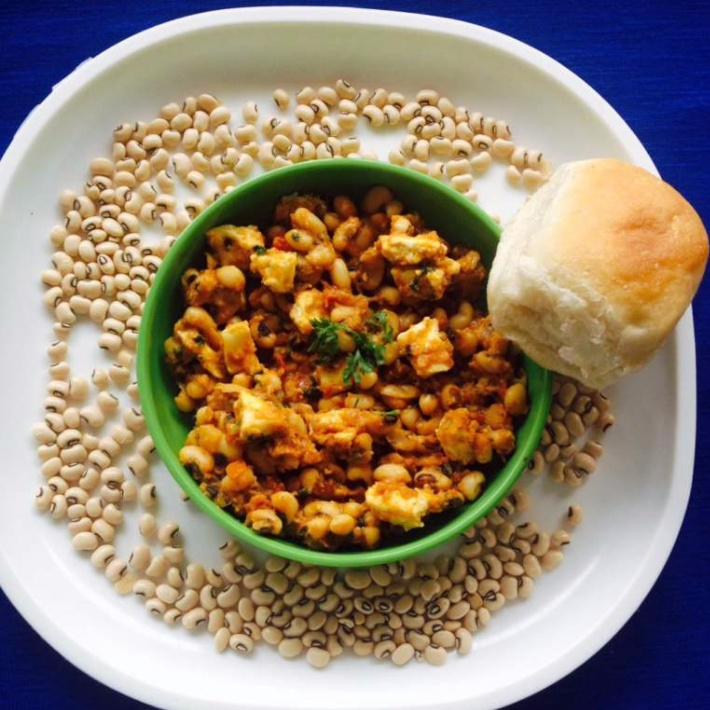 Photo of Lobia Paneer by Aparna Parinam at BetterButter