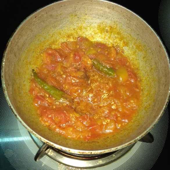 Photo of Peanut tomato chutney by Aparna Popuri at BetterButter