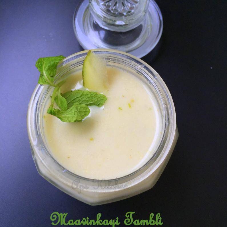 Photo of Maavinkayi Tambli/ Mavinkayi Tambli/ Raw Mango Tambli by Aparna Prabhu at BetterButter