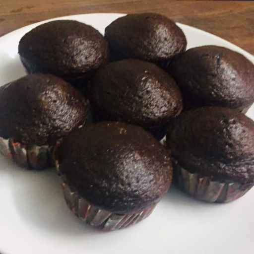 Photo of Chocolate cup cakes by Aparna Reddy at BetterButter