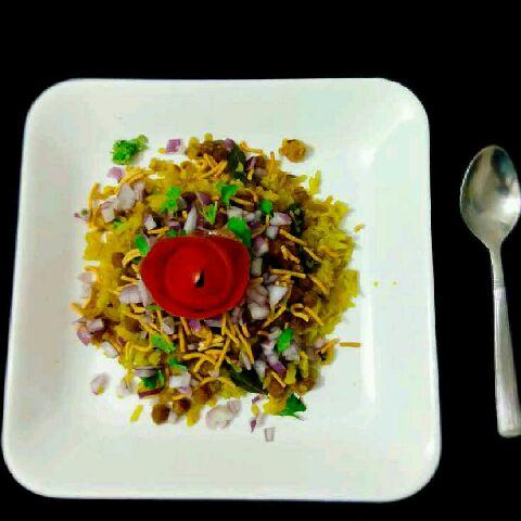 How to make नागपुर स्पेशल तर्री पोहे