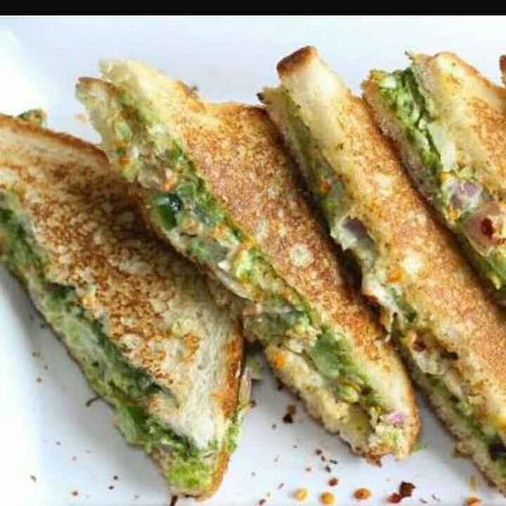 Photo of Veg malai sandwich by Aqsa Mehttar at BetterButter