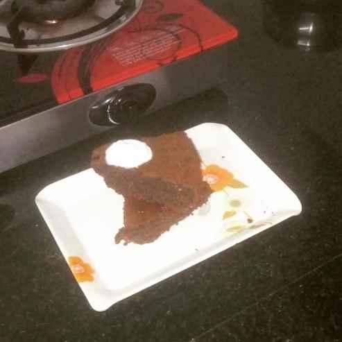 How to make खजूर और अलसी केक