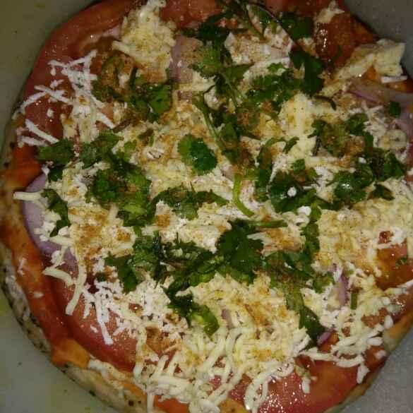 How to make Kulcha pizza on tava