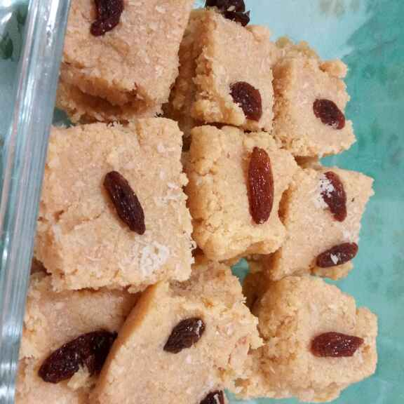 How to make Seasme and Coconut Barfi