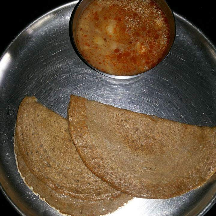 Photo of Kuttu ke chille with Aloo Ki Sabji by Archana Bhargava at BetterButter