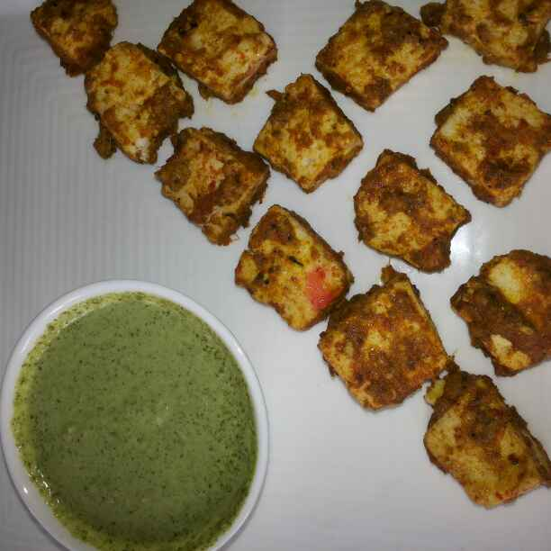 How to make Spicy Paneer Tikka