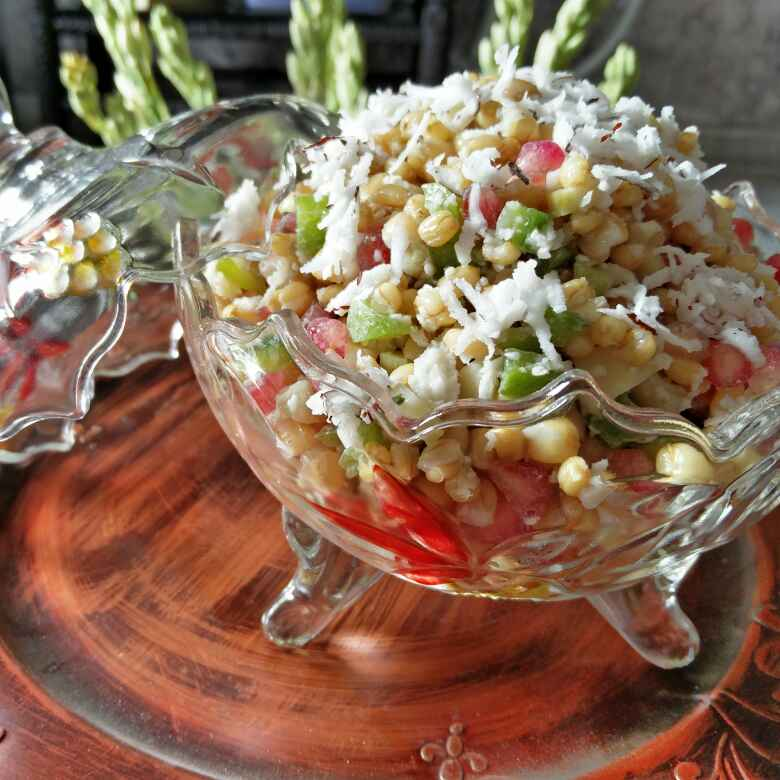 Photo of WHEAT SALAD by Archana Bhargava at BetterButter