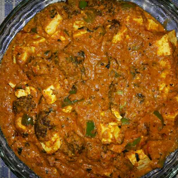 How to make KADAI PANEER