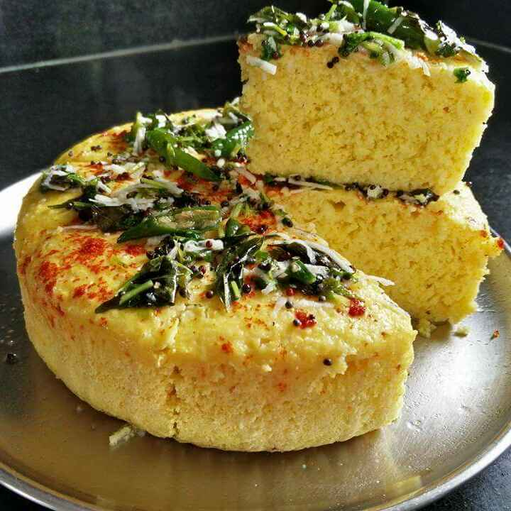 Photo of Dal chawal mishrit dhokla by Archana Bhargava at BetterButter