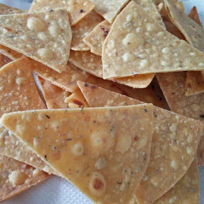 Photo of Bache hue tortiya se bane nachos by Archana Bhargava at BetterButter