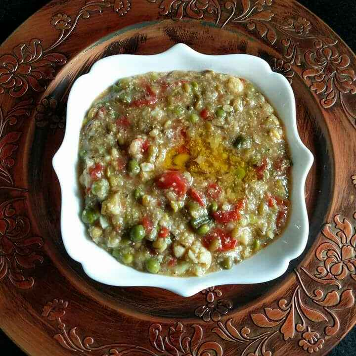 Photo of Vegetable bajra khichdi by Archana Bhargava at BetterButter