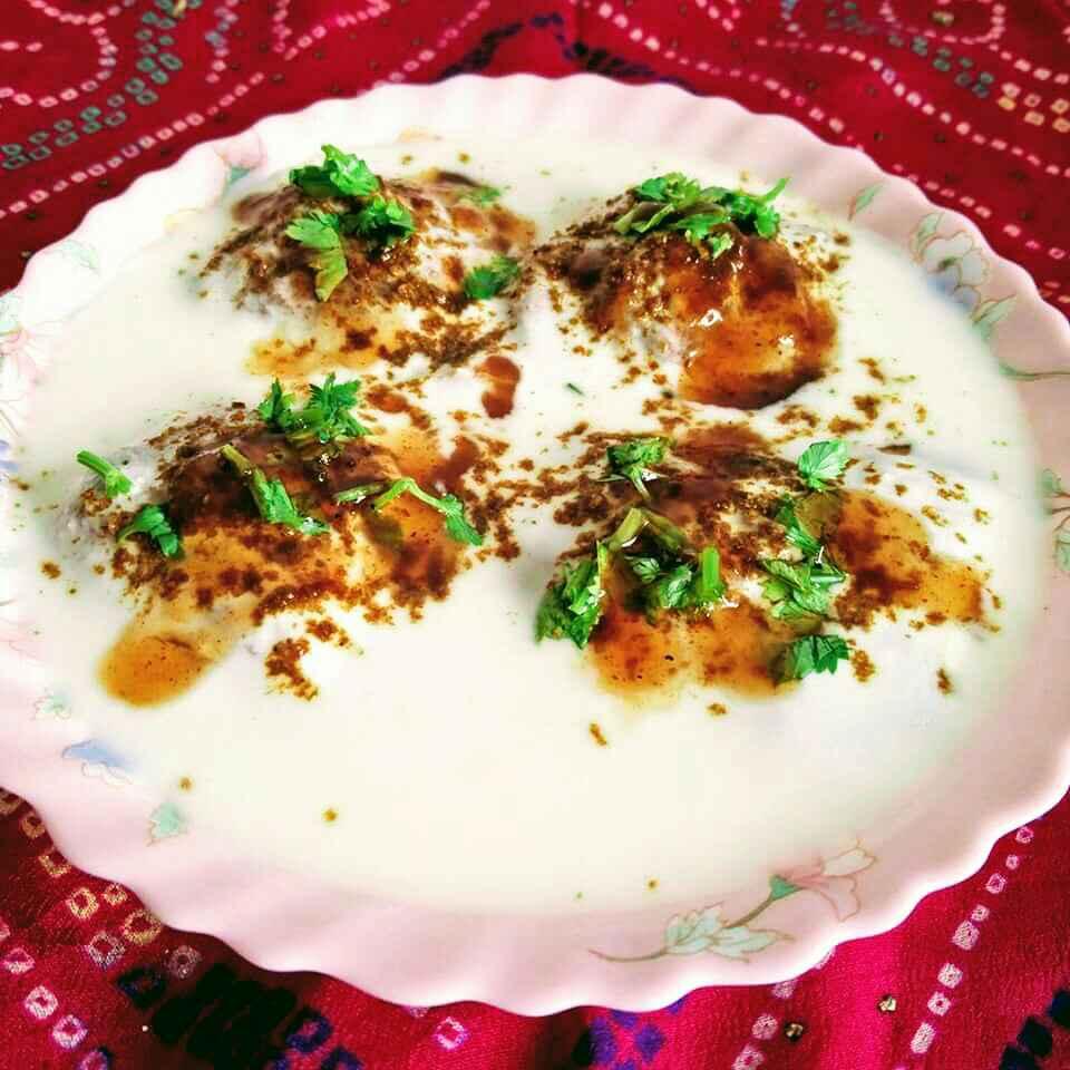 How to make Falahari dahi bhalle