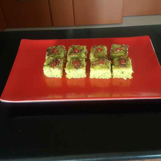 Photo of Green peas dhokla by Archana Chaudhari at BetterButter