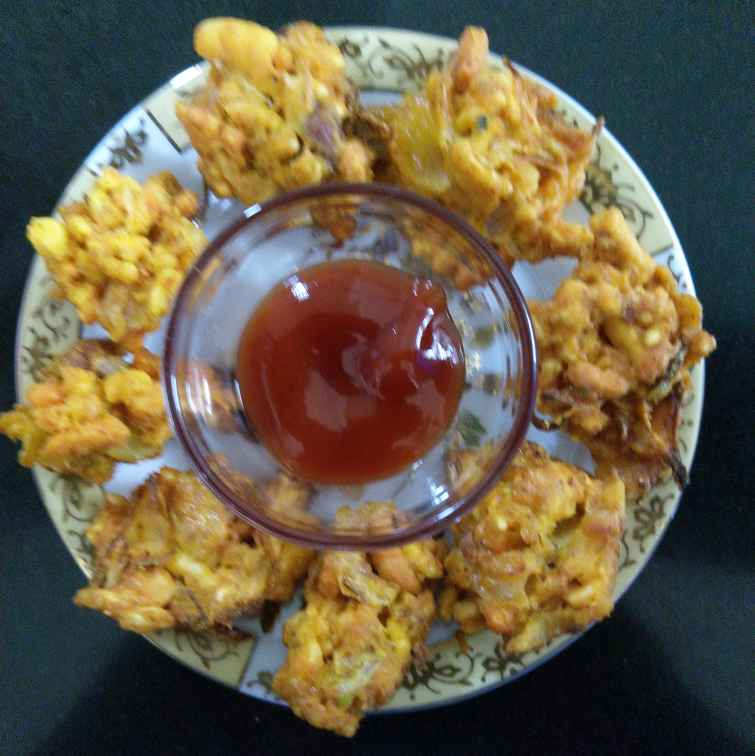 How to make भेळ पकोडा