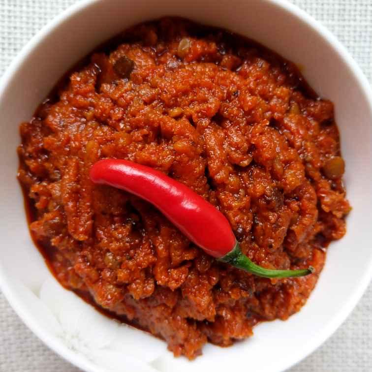 Photo of Multipurpose Fresh Red Chilli Achar by Archana Chaudhari at BetterButter