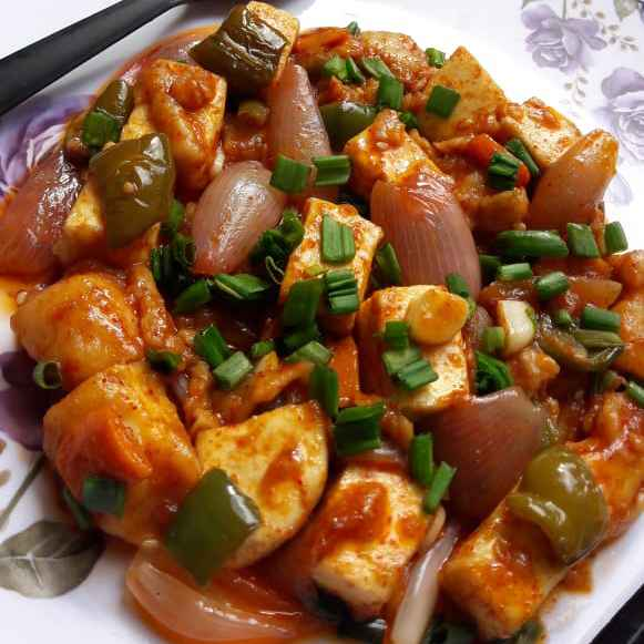 Photo of Dry Chilly Paneer: by Archana dave at BetterButter