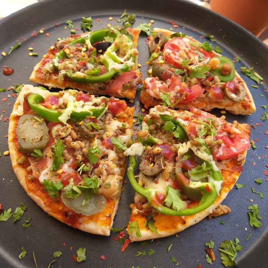 Photo of Sprouts Cheese Pizza by Archana dave at BetterButter