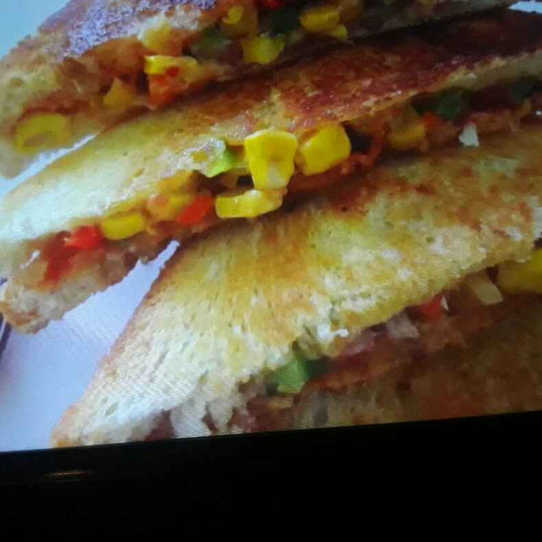 Photo of Bread Pizza Sandwich by Archana Lokhande at BetterButter