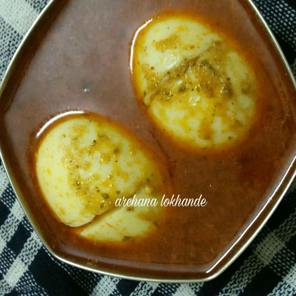 How to make मालवणी अंडा मसाला