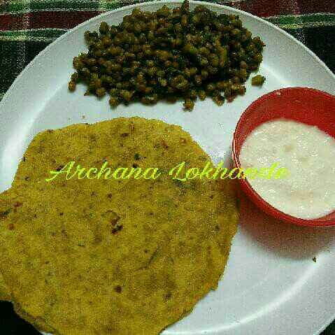 Photo of Dahi Dhapate ani Pendpala by Archana Lokhande at BetterButter