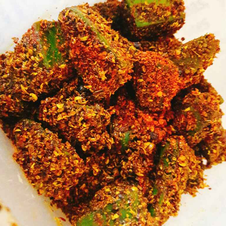 Photo of Aloe vera, Methi Dana And Green Chilli Pickle by Archana Srivastav at BetterButter