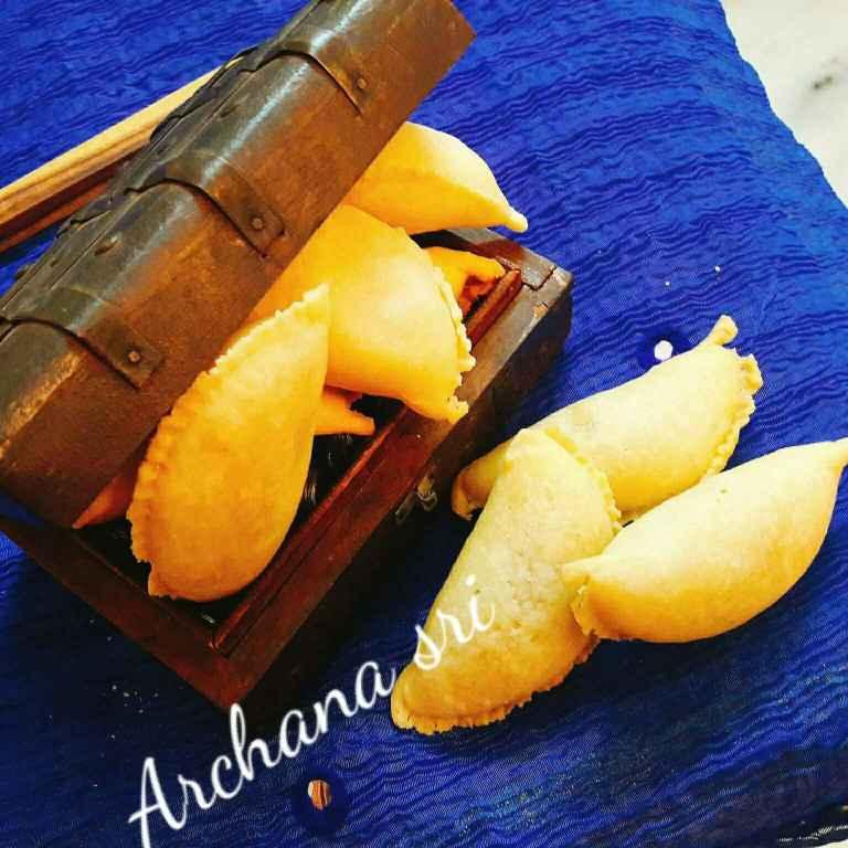 Photo of Khaskhas khoe ki gulkandi gujiya by Archana Srivastav at BetterButter