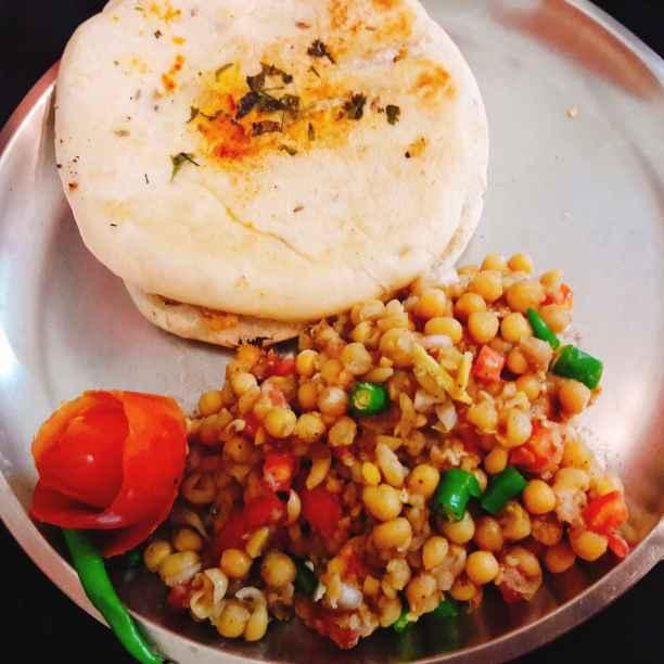 Photo of Stuffed matar kulcha sandwich by Archana Srivastav at BetterButter