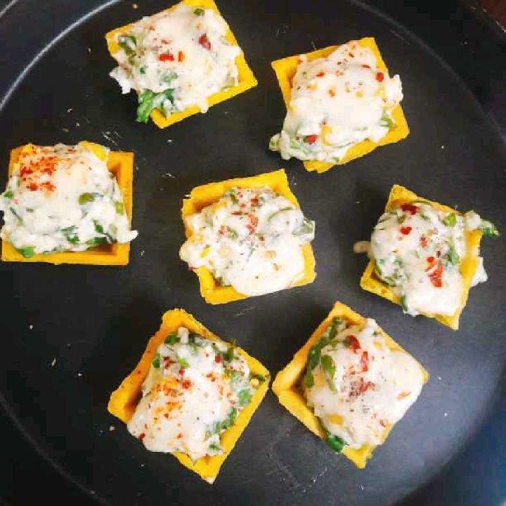 How to make Cheesy canopy