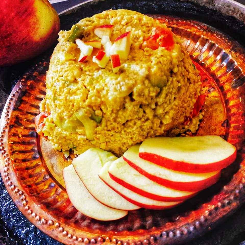 Photo of apple moong dal khichri by Archana Srivastav at BetterButter