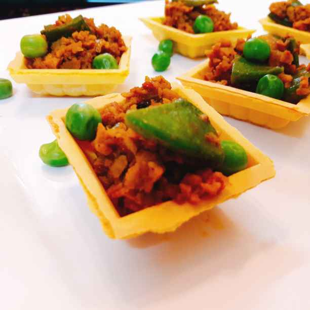 How to make Soya matar Canape