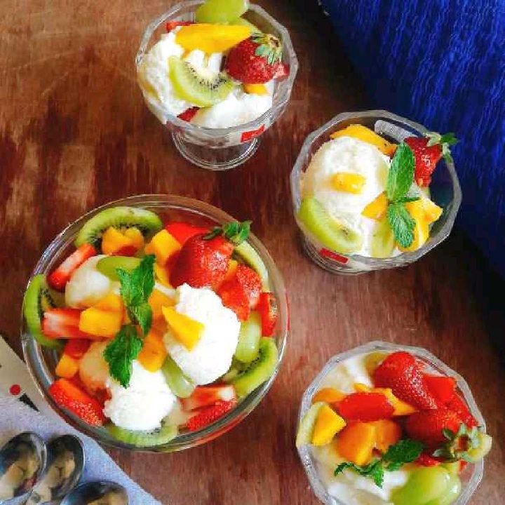 How to make Eggless vanila icecream