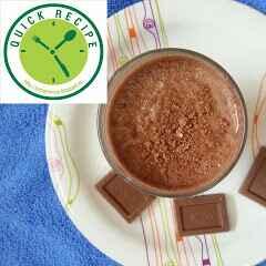 How to make Chocolate Milkshake