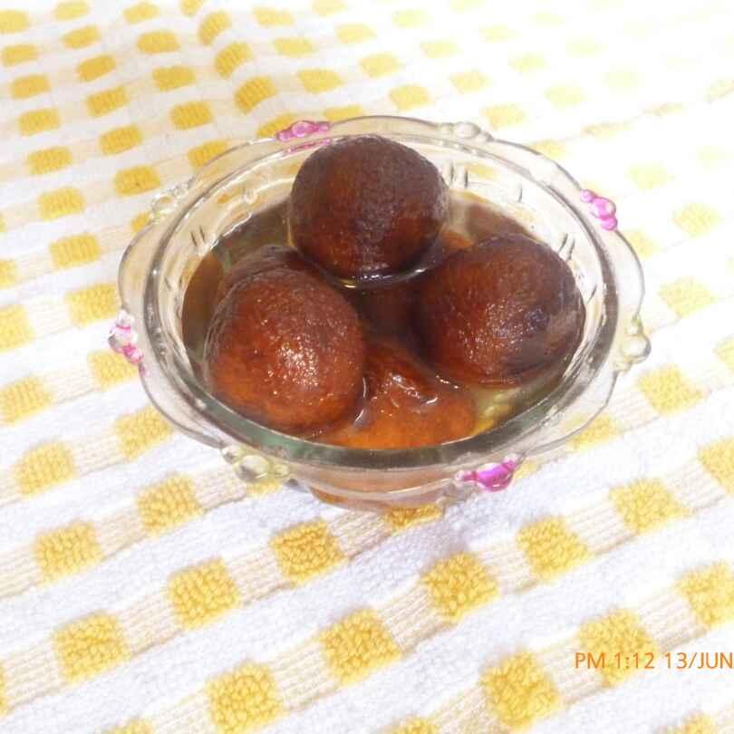 How to make Milk Powder Gulab Jamun