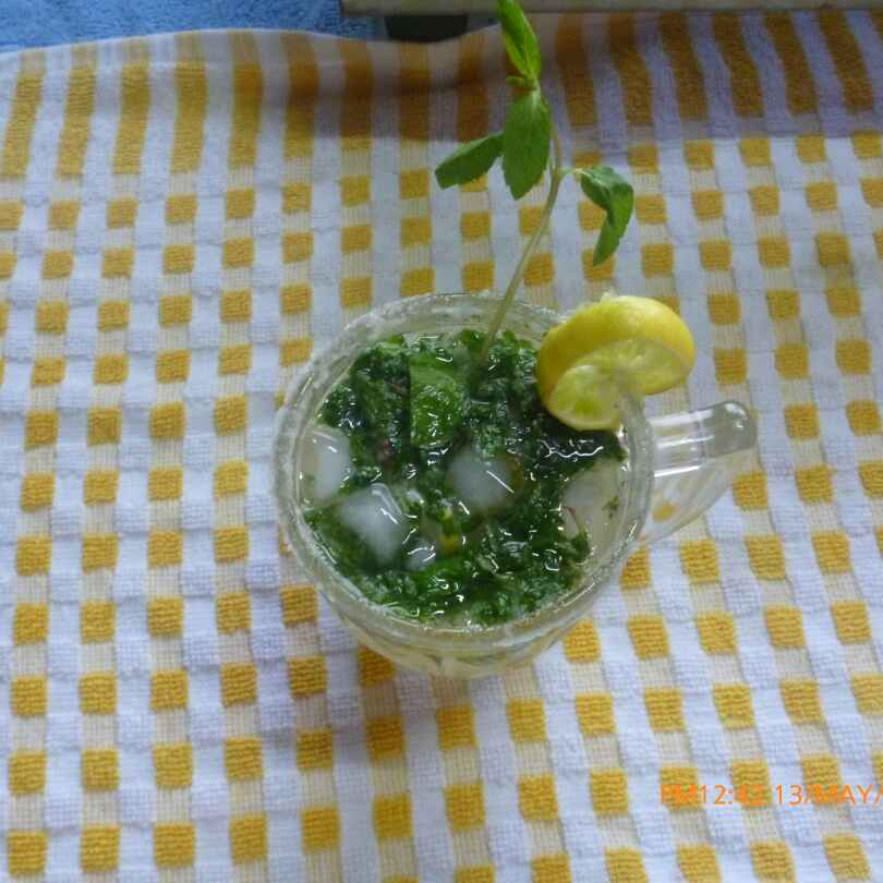 How to make Lemon mint mojito