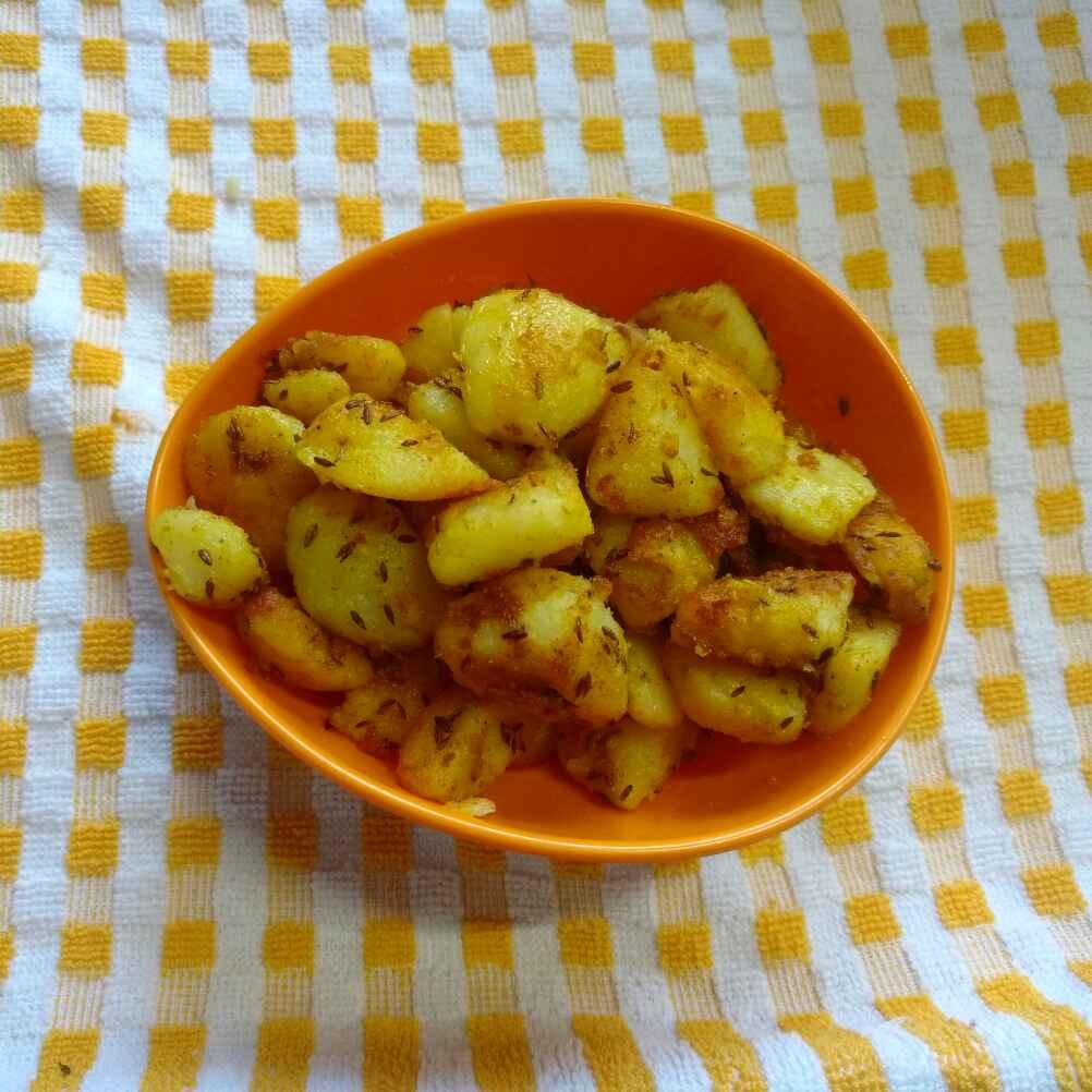 How to make Aloo Jeera Fry