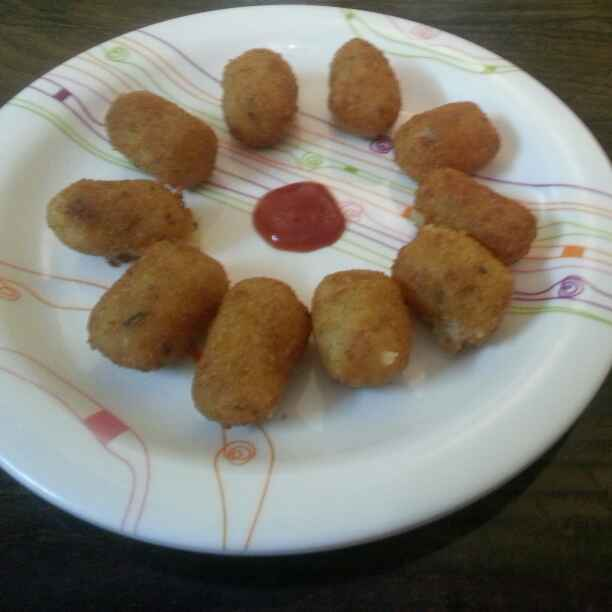 Photo of Potato nuggets. by Archana Vaja at BetterButter