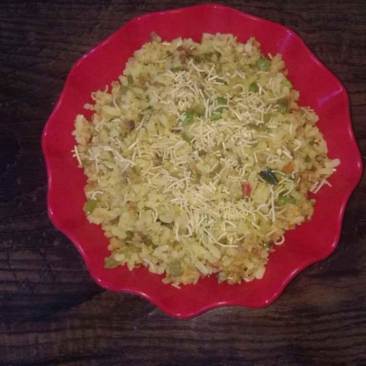 How to make Vegetabel oats poha.