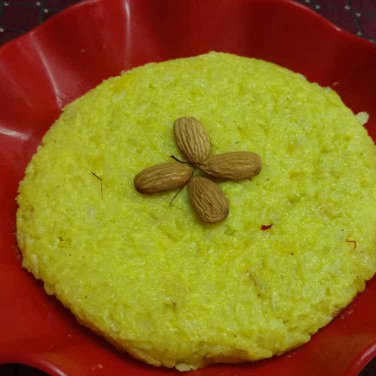 How to make કેસરી પોહા