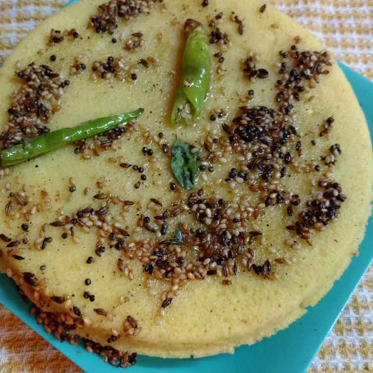 How to make રવા ઢોકલા