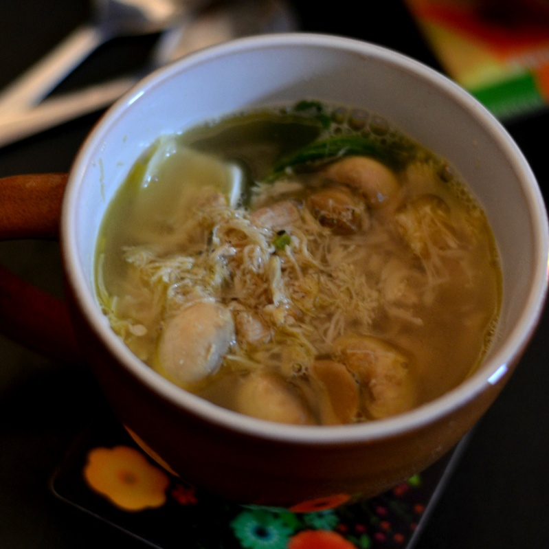 Photo of Chicken and Pakchoi Broth by Archita Ray at BetterButter
