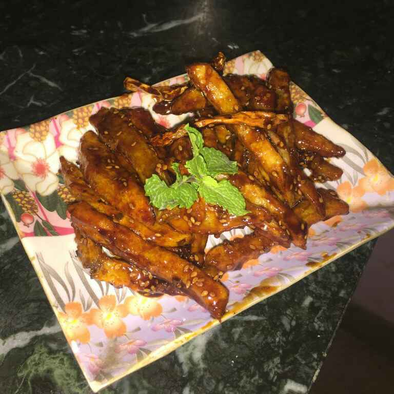 Photo of Honey chilli potato by archana goel at BetterButter