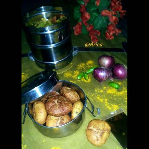 Photo of Onion khasta kachori by Arica Halder at BetterButter