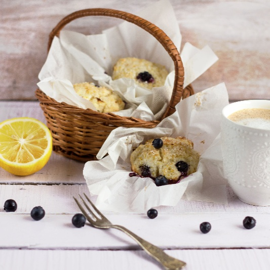How to make Blueberry- Lemon Muffins