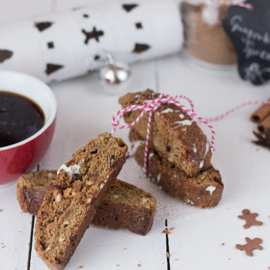 How to make Gingerbread Biscotti