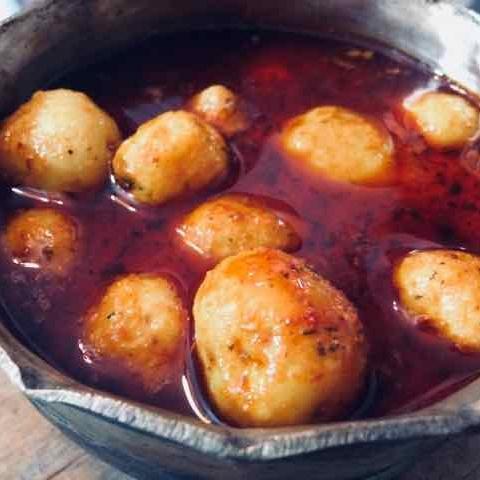 How to make Dahi Aloo Rasa